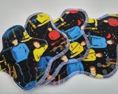 Geeky Cloth Pads ~ Reuseable Cloth Panty Liner ~ Organic Mama Cloth ~ Washable Cloth Menstrual Products ~ Reusable Cloth Pads ~