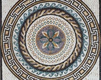 Mosaic Medallion Accent - Damli