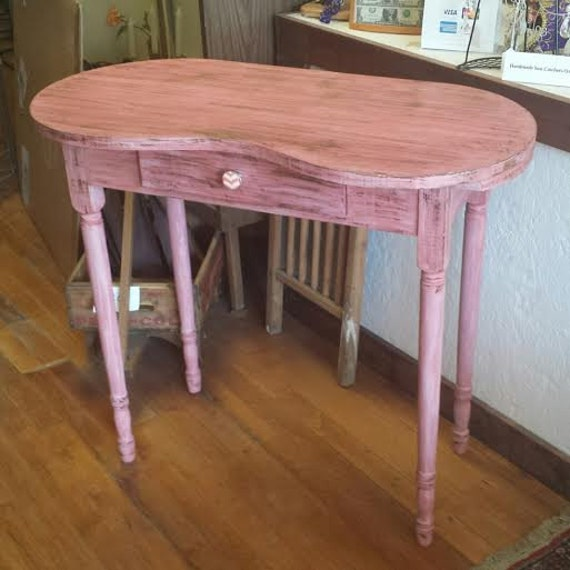 1940's Vanity Makeup Table in Pink-Shabby Chic by ...