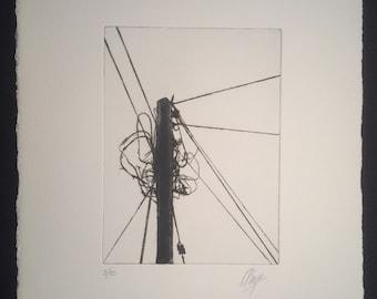 Telegraph Pole (scrambled)