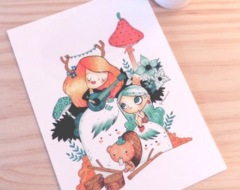 PRINT - Illustration Izi and Pimienta