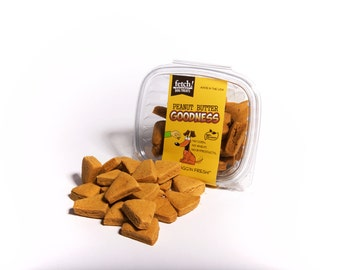 Peanut Butter & Sweet Potato Dog Treats