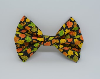 Fall, Autumn Boys Clipon Bowtie, Childrens Bowtie Clip on, infant bowtie,