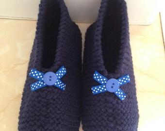 25 % off Knitted slippers, (4uk), 25 percent off, slipper socks