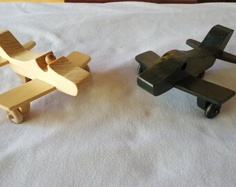 F86 Jet Airplane Handmade Wooden Toy