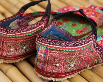40 Stunning Vintage Hmong Handmade Sandals