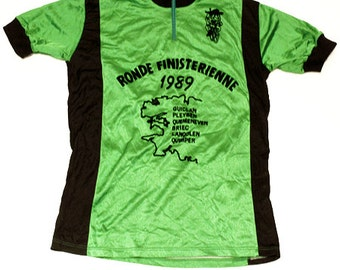 80's vintage cycle jersey made in France