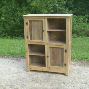 Beautiful Rustic Pallet Cabinet With Wood Door, Jelly Cabinet, Reclaimed Wood, Shabby  Chic Cabinet