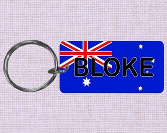 Personalized Australia Country flag keychain