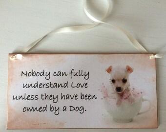 Chihuahua dog Plaque