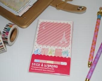 Sticky Notes, Memo Pad- Paris