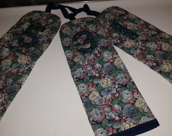 Golf Club Covers Quilted Hand made Floral Fabric
