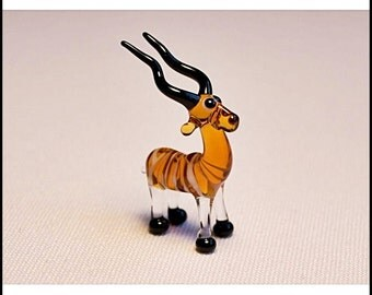 Cute Glass Super Mini Fugirune - Kudu Antelope