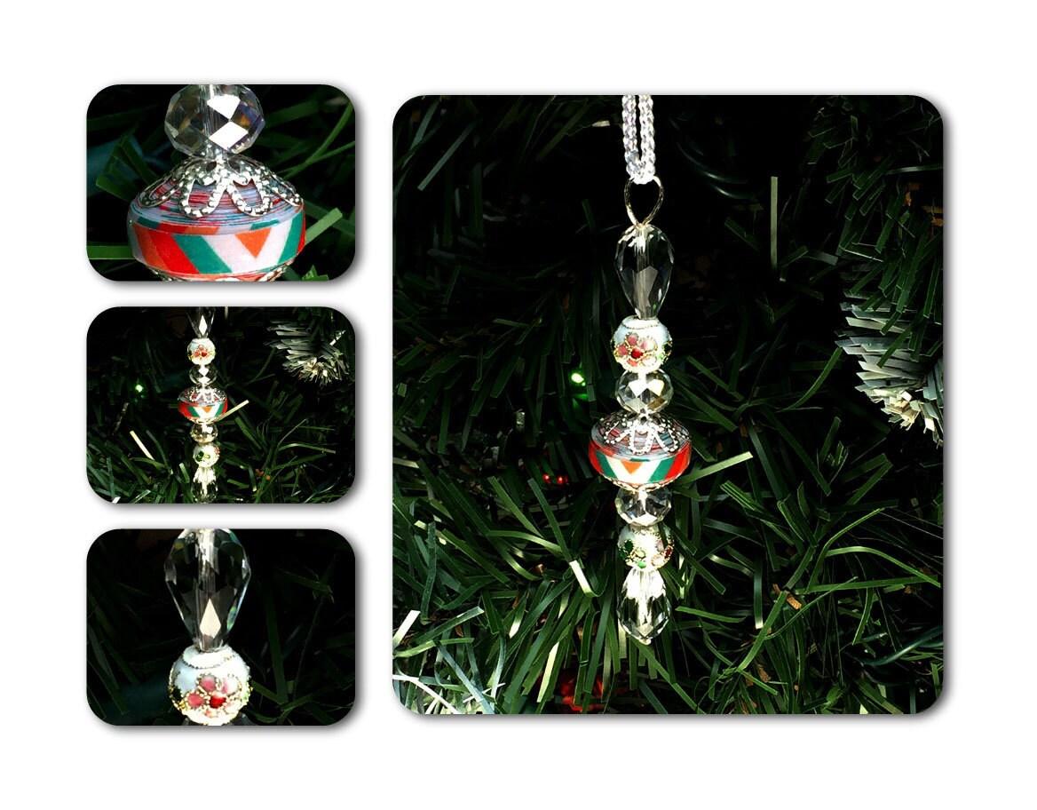 Paper bead christmas ornament handmade decorations
