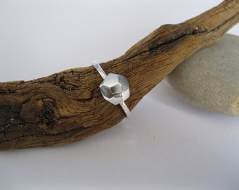 Steadfast & Compassionate Recycled Geo Ring