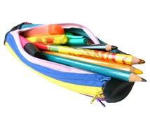 Zipper pencil case, back to school, colorful pencil case, zipper pencil pouch, school pencil case, cute pencil case kids pencil case rainbow