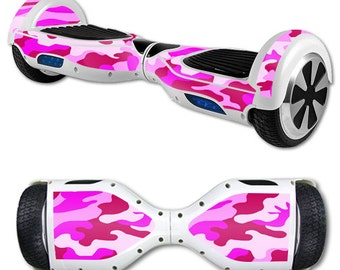 Skin Decal Wrap for Self Balancing Scooter Hoverboard unicycle Pink Camo
