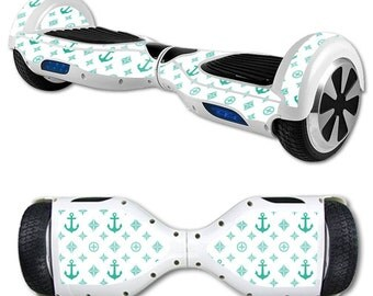 Skin Decal Wrap for Self Balancing Scooter Hoverboard unicycle Teal Designer