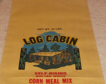 Vintage Kentucky Corn Meal Sack