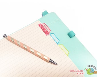 Adhesive Tabs for Planner or files