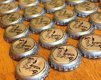 50 Flying Dog Bottle Caps