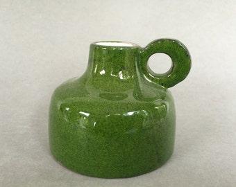 RRK -  Rhein Ruhr Keramik vintage Mid Century Modern diabolo vase  1960s /1970s West Germany pottery, WGP vase.
