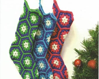 CROCHET HOLIDAY STOCKING