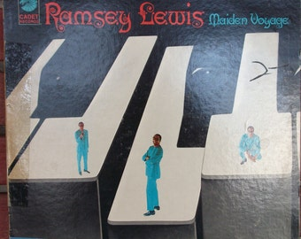 Ramsey Lewis, Maiden Voyage, Vintage Record Album, Vinyl LP, Bop Oriented Jazz, Pianist, Radio Personality, Chicago Jazz Scene