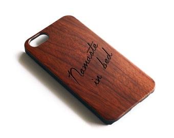 Iphone 6 Case Wood, Namaste Iphone 6 Case, Rosewood Case