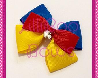 Handmade Snow White Inspired Hair Bow