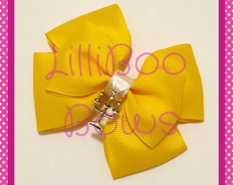 Handmade Lumiere Beauty and the Beast Inspired Hair Bow