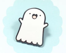 Adopt a Ghost! - Spooky McCute - the Friendly Ghost Pin