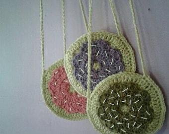 Crochet Toddler Donut Purse