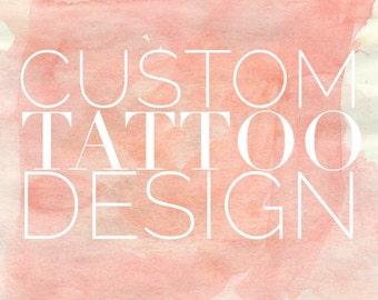 Hand Lettered TATTOO Design | Custom Tattoo | Tattoo Design | Calligraphy Tattoo | Tattoo Lettering