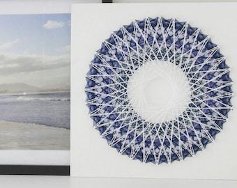 White Mandala 'Mini' Wall Hanging ( 30cm x 30cm )