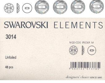 Swarovski button 3014.  Price is for 1 button