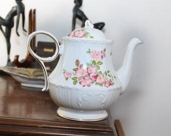 Royal Grafton Jacobean Wild Rose Teapot!