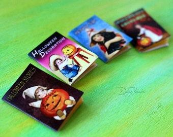 Miniature Halloween magazines