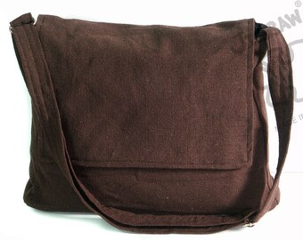 Messenger bag Dark Brown bag Crossbody bag Sling purse Shoulder Bag Tote