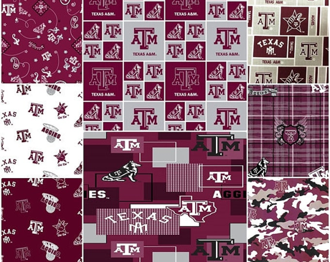 "TEXAS A&M Aggies Baby Sensory Ribbon Security Blanket Lovey with Tags 16""x16"""