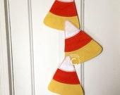 Halloween Candy Corn Felt Decoration For Your Party