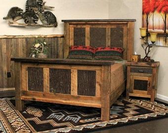 """Barn wood bed """"Moonlight Basin"""""""