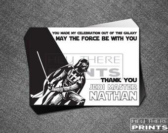 Darth Vader Thank You Card - Star Wars