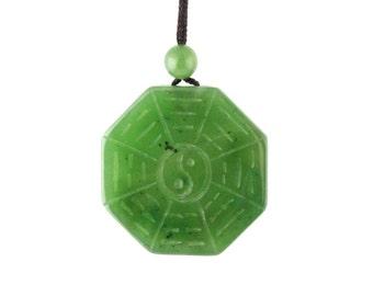 Jade Yin Yang Pendant