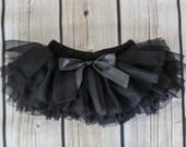 Baby Tutu Skirt, Black Tutu Skirt, Baby Tutu Bloomers, Black Diaper Cover, Baby Tutu, Baby Bloomers, Diaper Covers, Newborn Bloomers, 2121