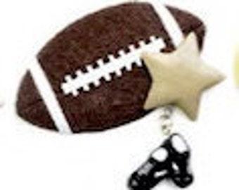 Football Star Personalized Sports Ornament