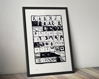 Story - screenprint - limited edition