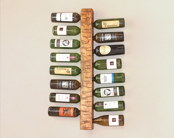 "34"" Wall Wine Rack 