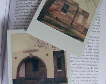 Haunted #1 set of 2 polaroids - art decor prints photographs photography stationery