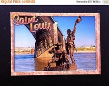 SaLE sALe SaLE Lewis and Clark Monument - Saint Louis, Missouri - Postcard